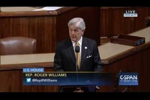 Rep. Williams Talks Tax Reform Plan on House Floor