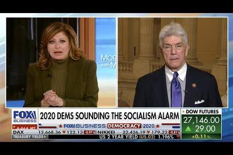 Rep. Williams on Mornings with Maria: Socialism versus Capitalism