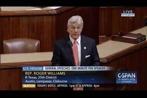 Rep. Williams Votes to Make 'Hyde Amendment' Permanent