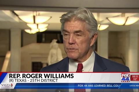 Rep. Williams Gives SOTU Reaction with Fox 44 Killeen