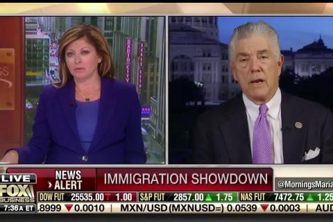 Rep. Williams Joins FBN's Mornings with Maria to Discuss Border Security and Tax Reform 2.0