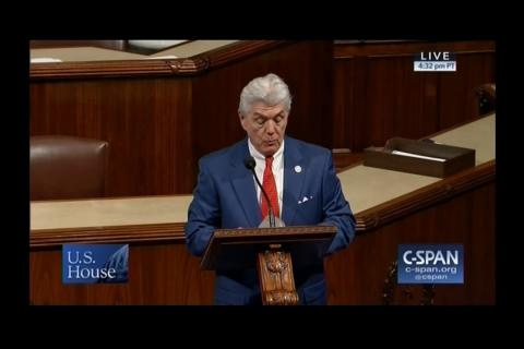Congressman Williams Honors Mark and Wendy Johnson on House Floor