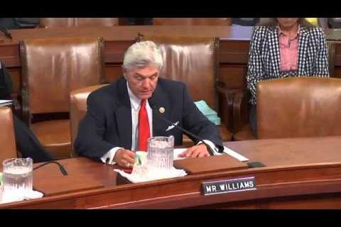 Rep. Williams Brings Jumpstart America Before Tax Committee