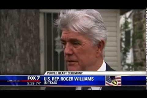 Roger Williams Previews the Ft. Hood Purple Heart Ceremony on Austin's Fox 7 News