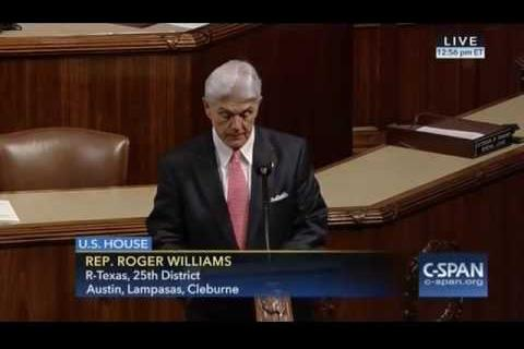Rep. Williams Speaks on Anniversary of 9/11