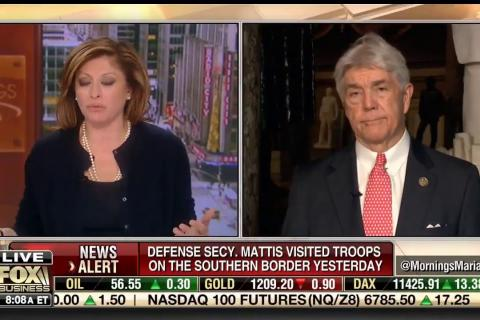 Rep. Williams Joins FBN's Morning with Maria to Discuss Border Security,  and the Economy