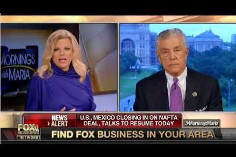 Rep. Williams Joins FBN's Mornings with Maria to discuss NAFTA and to Remember John McCain
