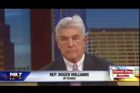 Rep. Williams Speaks with Fox 7 Austin