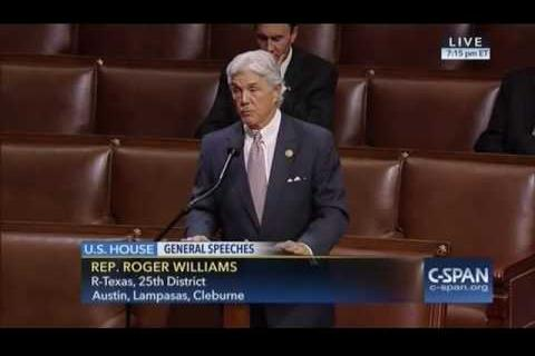 Rep. Williams Honors Retiring Congressman Neugebauer