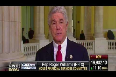 Rep. Williams Talks Obamacare Repeal Fox Business