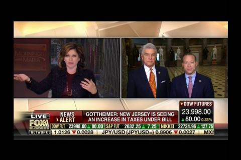 Rep. Williams and Rep. Gottheimer Discuss Opposing Views on Tax Reform on Mornings with Maria FBN