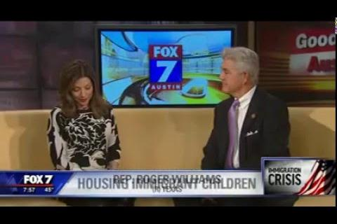 Rep. Williams joins Fox 7 Austin to discuss UACs in Somervell County
