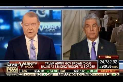 Rep. Williams Joins FBN's Stu Varney to Discuss the TX National Guard at the Southern Border