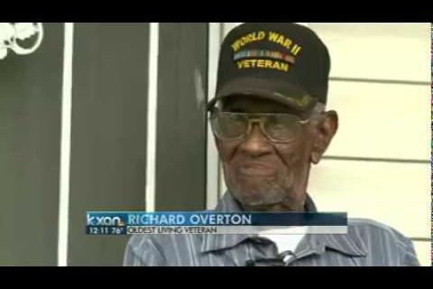 Roger Williams Honors Oldest Living U.S. Combat Veteran in Austin